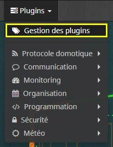 Comment accéder à la gestion des plugins Jeedom
