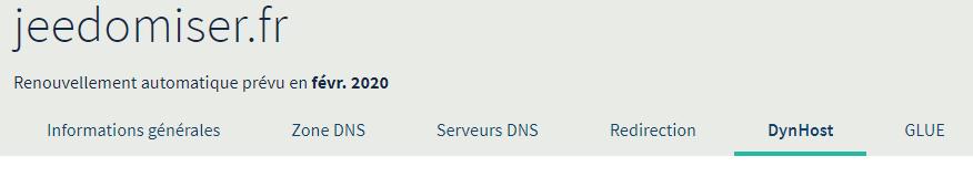Comment accéder à la configuration de son Dynhost depuis son espace client OVH