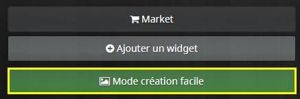 Comment accéder à la création facile de widgets