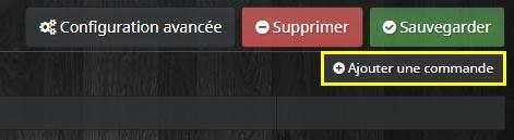 Ajouter une commande sur l'équipement du plugin CloudSync Pro