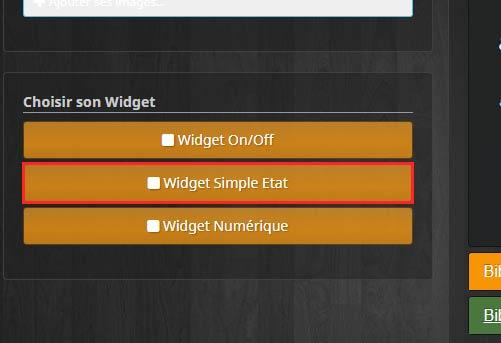 Créer un widget simple état