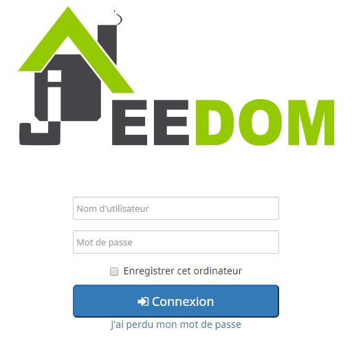 Comment se connecter pour la première fois à Jeedom après l'avoir installé sur un Raspberry PI 3B+