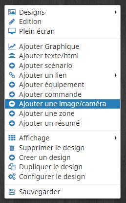 Ajouter une image ou une caméra dans son design 2D Jeedom