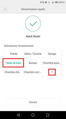 Choisir emplacement de la sonde Xiaomi Aqara
