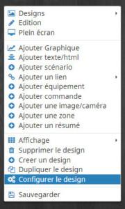 Configurer le design 2D Jeedom