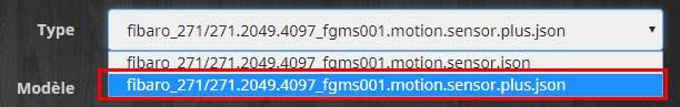 Configurer le détecteur FGMS-001 en Z-Wave Plus