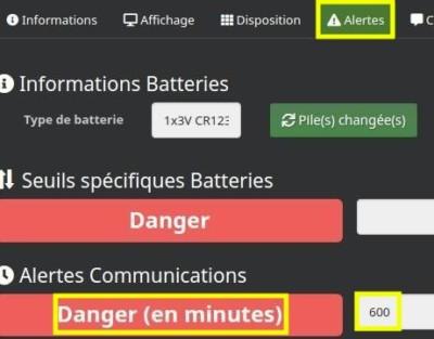 Définir une alerte en cas d'absence de communication avec le module Fibaro FGMS-001 dans Jeedom