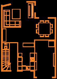 Plan de mon RDC en 2D Jeedom