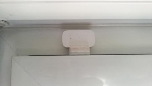 Placement du capteur d'ouverture de porte et fenêtre Xiaomi