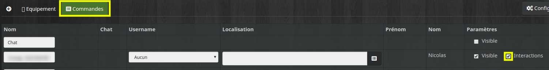 Activer les intéractions pour un utilisateur dans Telegram
