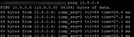 Atteindre Jeedom depuis le serveur OpenVPN