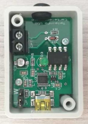 Boitier téléinfo USB ouvert pour compteur Linky et Jeedom