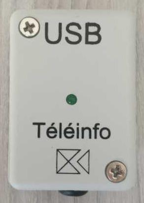 Boitier téléinfo USB fermé pour compteur Linky et Jeedom