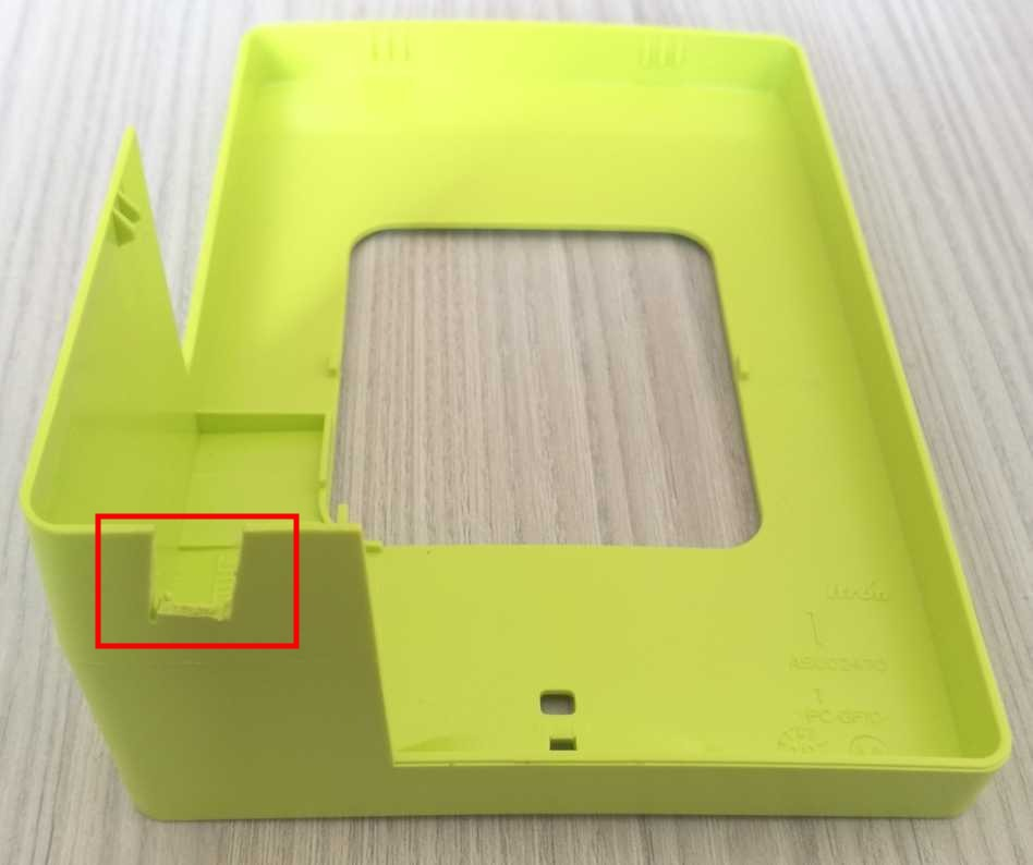 Scier le boitier du compteur Linky pour cable RJ45 et module TéléInfo USB pour Jeedom