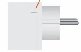 Bouton On/Off manuel pour prise connectée Z-Wave+ de Qubino compatible Jeedom