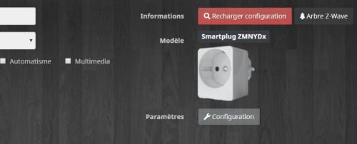 Création automatique de la prise connectée Z-Wave+ Qubino compatible Jeedom après inclusion