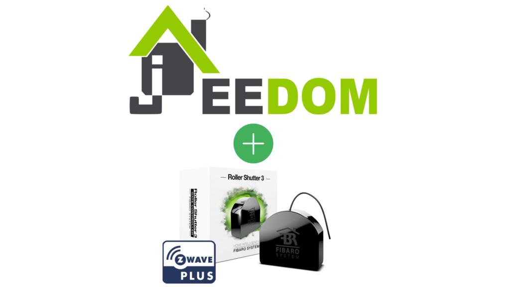 Module Z-Wave+ Fibaro FGR-223 compatible avec Jeedom