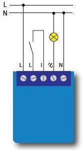 Installation du mini variateur encastrable de Qubino avec 3 fils dont un fil neutre