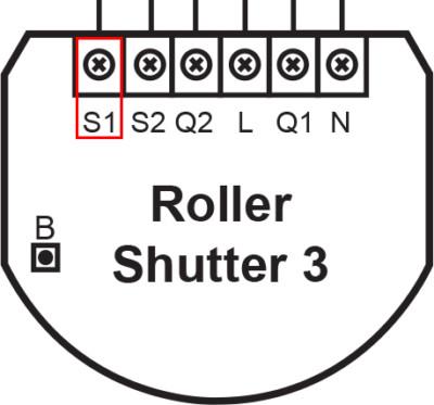 Repérer interrupteur S1 sur le FGR-223 de Fibaro pour l'inclusion au réseau Z-Wave avec Jeedom
