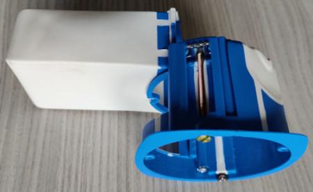 Comment séparer la boite d'encastrement pour micromodule en deux parties distinctes