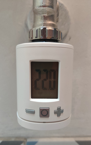 Installation Eurotronic Spirit tête thermostatique sans fil Z-Wave