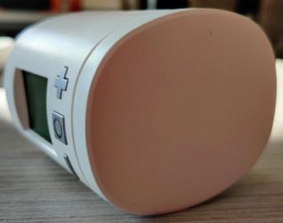Tête thermostatique Eurotronic Spirit Z-Wave avec cache piles blanc