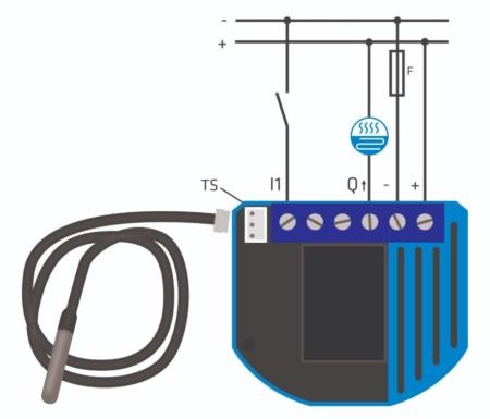 Branchement Thermostat V2 Qubino