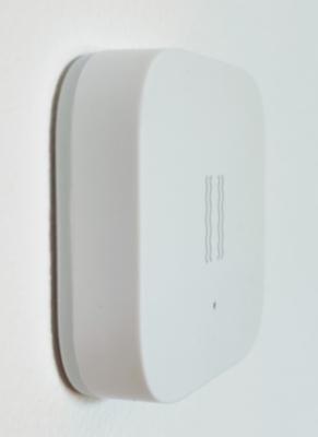 Positionner le capteur de vibration sur un mur