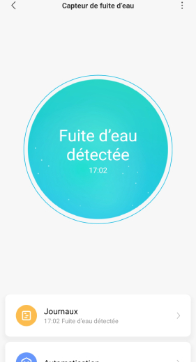 Ajouter capteur d'eau Xiaomi Aqara dans Mi Home