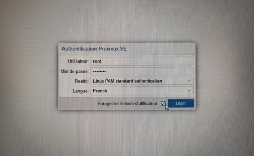 Installer Proxmox sur un NUC Intel pour Jeedom