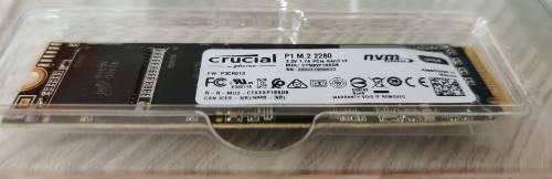 SSD NVME pour installation promox avec Jeedom sur un NUC Intel