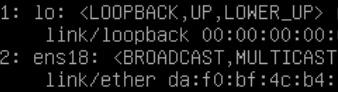 Afficher les interfaces actives de Debian avec Jeedom