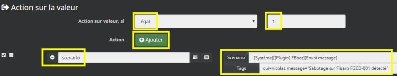 Activer les notifications au controleur Z-Wave du détecteur de monoxyde de carbone CO Fibaro FGCD-001 avec Jeedom