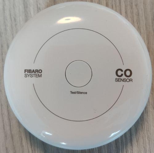 Détecteur de monoxyde de carbone CO Fibaro FGCD-001 avec Jeedom