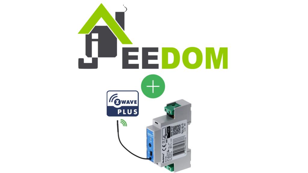 "Qubino ZMNHSD1 ""DIN Dimmer"" Module variateur Z-Wave+ compatible avec Jeedom"