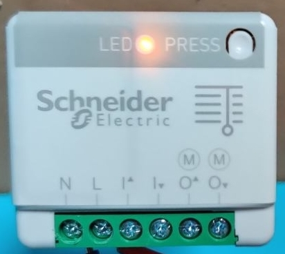 Désactiver le mode répéteur actionneur volet roulant Schneider Electric Odace SFSP