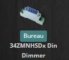Inclusion du module Qubino ZMNHSD1 DIN Dimmer variateur z-wave+ compatible avec Jeedom