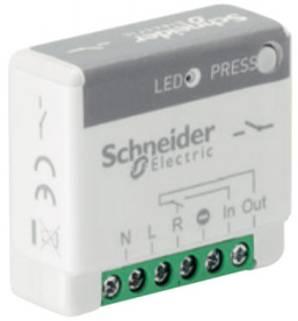 Actionneur minuteur générique 10A sans fil sans pile Odace SFSP de schneider electric compatible avec Jeedom