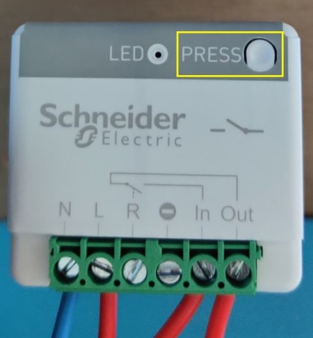 Appairage de l'actionneur minuteur générique 10A sans fil sans pile Odace SFSP avec l'application mobile