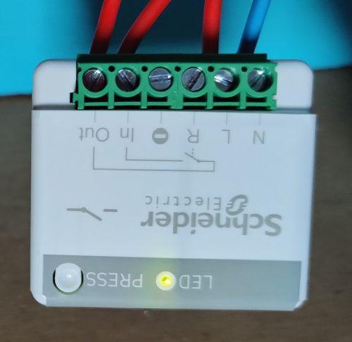 Appairage de l'actionneur minuteur générique 10A sans fil sans pile Odace SFSP avec interrupteur