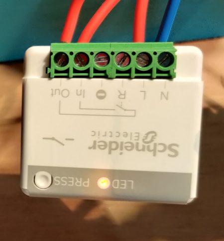 Appairage de l'actionneur minuteur générique 10A sans fil sans pile Odace SFSP avec Jeedom