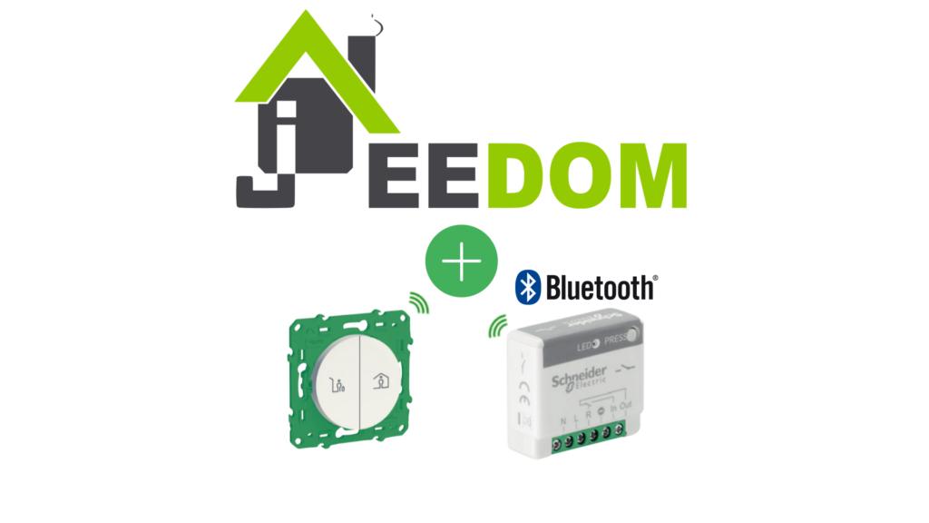 schneider electric actionneur minuteur generique 10A sans fil sans pile odace sfsp avec jeedom
