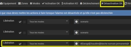 Activer la marche normale de la chaudière en cas de désactivation de l'alarme avec Vitoconnect Viessmann et Jeedom
