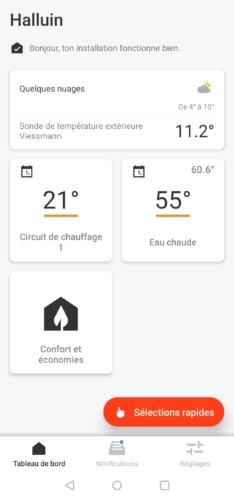 Connecter Vitoconnect à la chaudière Viessmann pour Jeedom avec ViCare