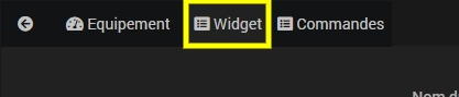 Personnaliser le widget de l'équipement Vitoconnect pour chaudière Viessmann avec Jeedom