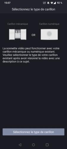 Intégration de la sonnette vidéo Foscam VD1 dans l'application mobile
