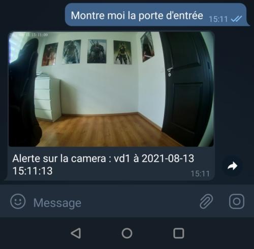 Créer une interaction avec Jeedom pour sonnette vidéo Foscam VD1