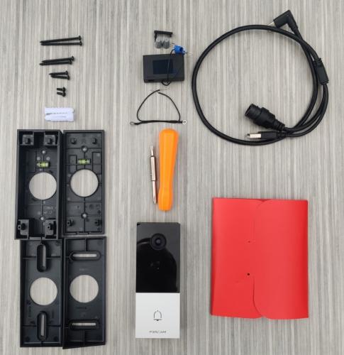 Packaging sonnette vidéo Foscam VD1