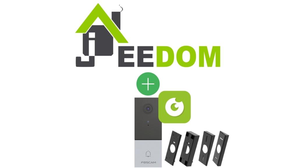 Sonnette vidéo Foscam VD1 compatible avec Jeedom