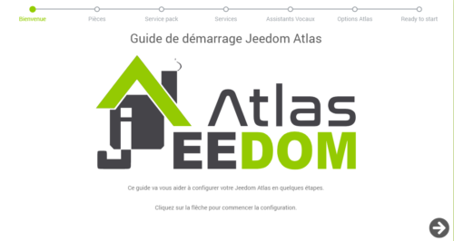 Guide de démarrage Jeedom Atlas